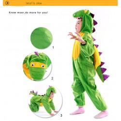 Kids Unisex Children Onesie Pajamas Animal Onesie dinosaur