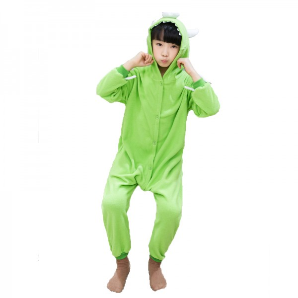 Kids Cartoon Animal Pajamas Hooded Onesies Girl Pajamas Boys Sleepwear