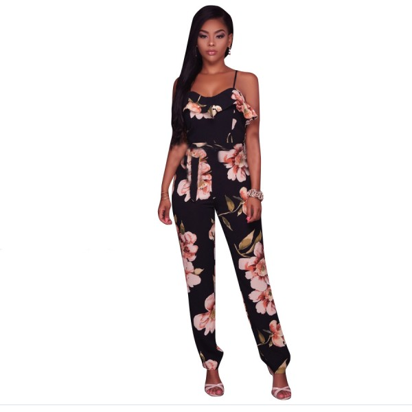 Jumpsuits For Women BodySuits Floral sexy Onesie