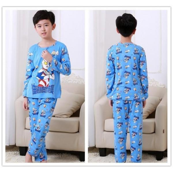 Cartoon Kid Pajamas Minions Pajamas Set Children Pajamas