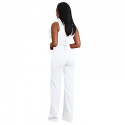Jumpsuit Sexy bodysuit V Collar Women onesie
