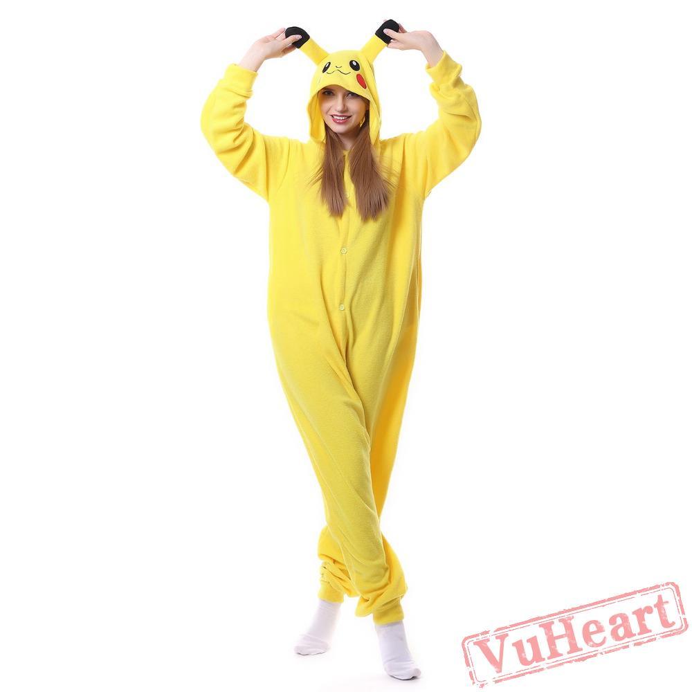 Adult Pikachu Kigurumi Onesies