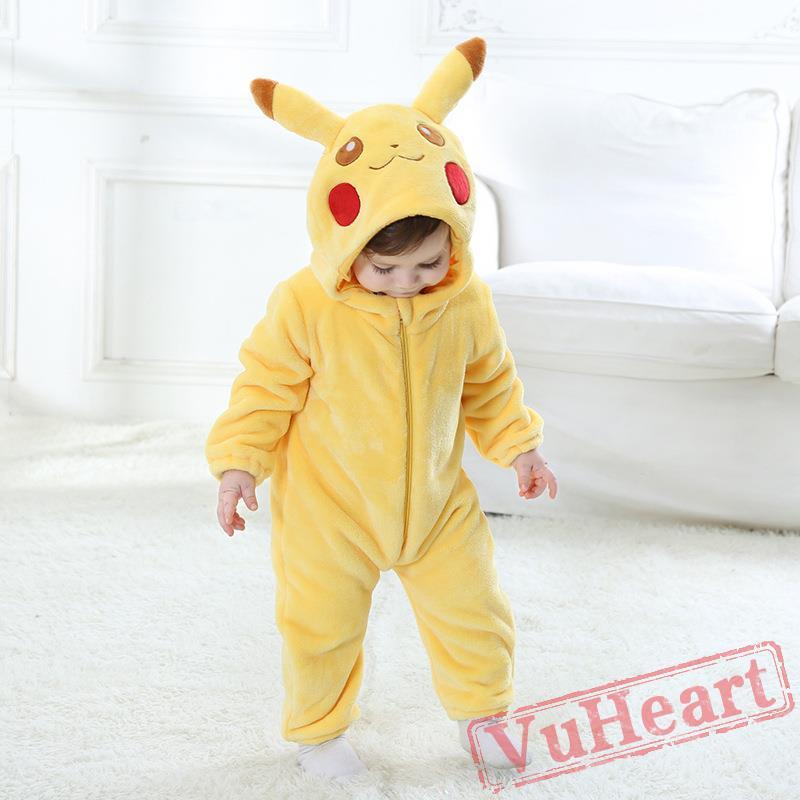 Baby Pikachu Kigurumi Onesies